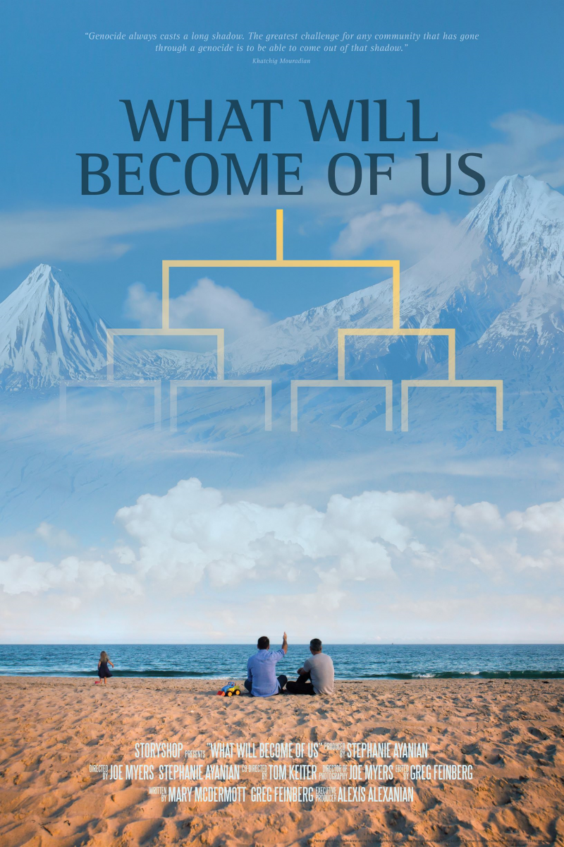 The film's theatrical poster (Poster courtesy of Stephanie Ayanian)