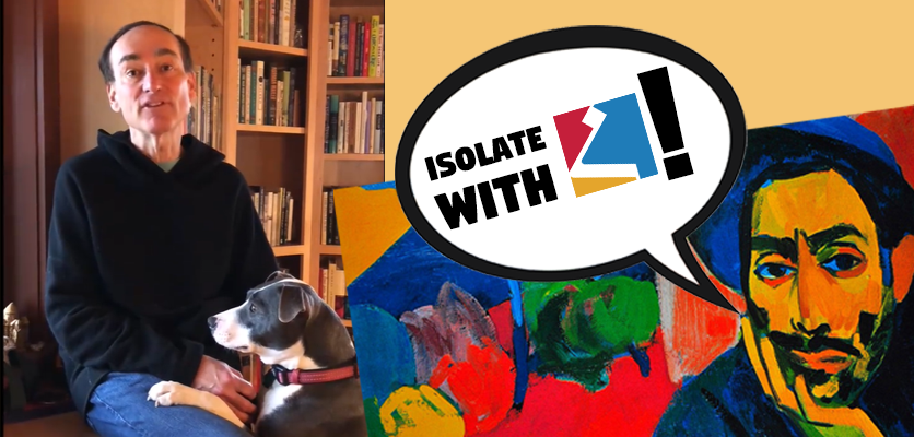 #IsolateWithHPem episode 1: NYT best-selling author Chris Bohjalian