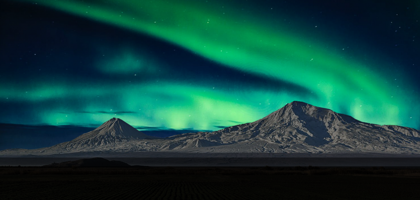 On the quest for Aurora Borealis: Finding heat and Ararat in Iceland