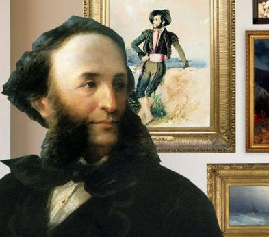 On this day - Jul. 29, 1817: the 19th century painter Ivan Aivazovsky was born