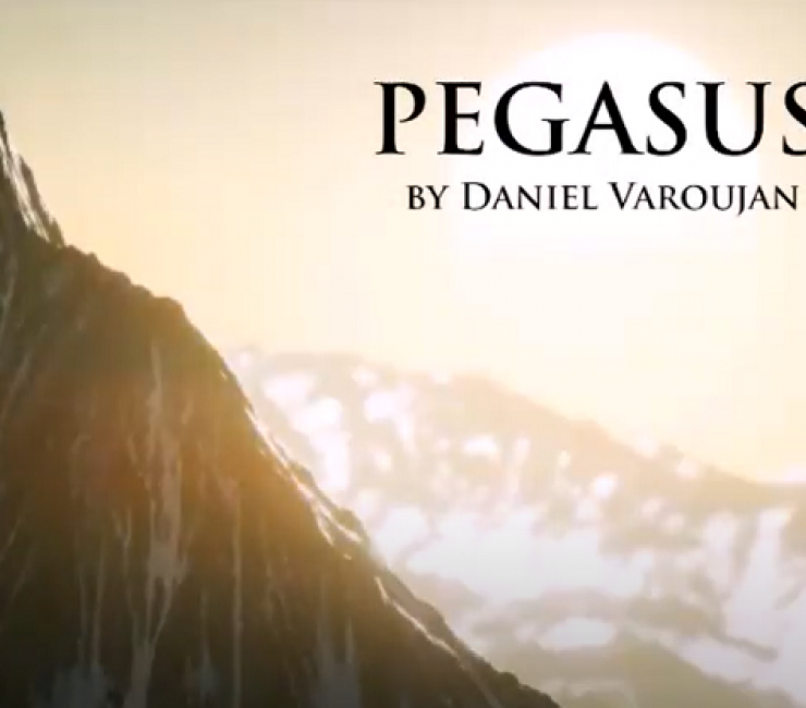 "Film |'Pegasus': Riding Daniel Varoujan's ""steed of fire"" towards uncharted cliffs"