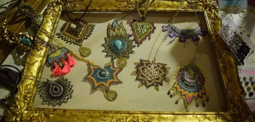 Needlelace | Talin's Crafts: Armenian lace meets modern fashion with a quirky charm