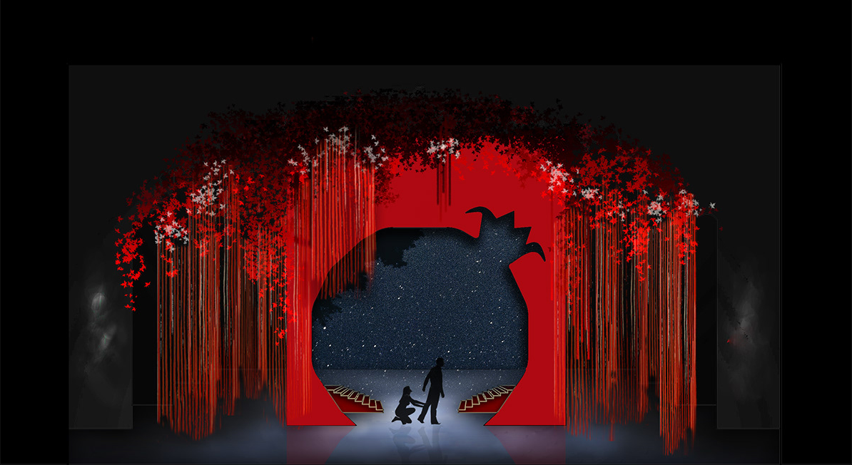 "Laurie Mikaelian's set design set for ""Anush"" opera"
